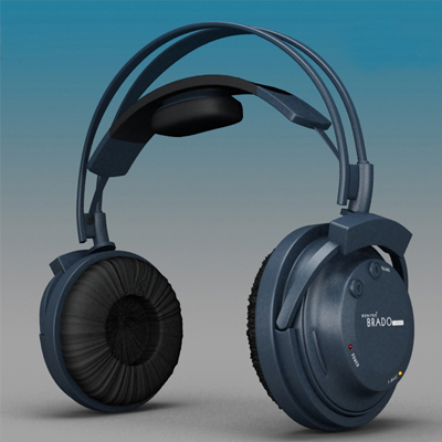 Modeling Thumb - 02 - Headset